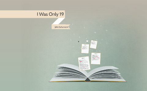 i was only 19 book