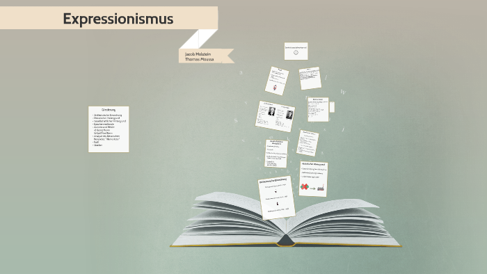Expressionismus By Jacob Holstein On Prezi