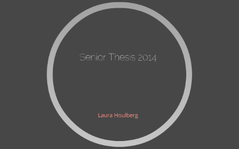 laura houlberg thesis