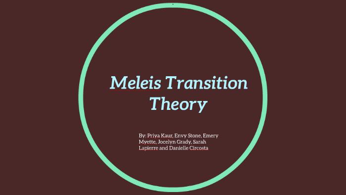 Meleis Transition Theory by Sarah Lapierre on Prezi