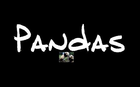 Pandas by Jessica Sweatman on Prezi