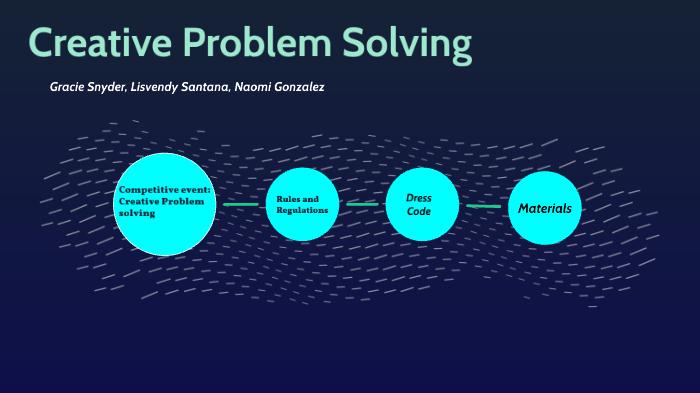 hosa creative problem solving round 2