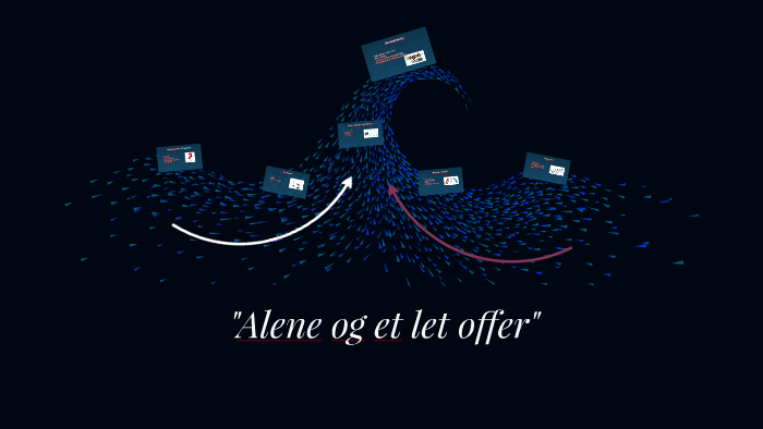 alene og et let offer novelle