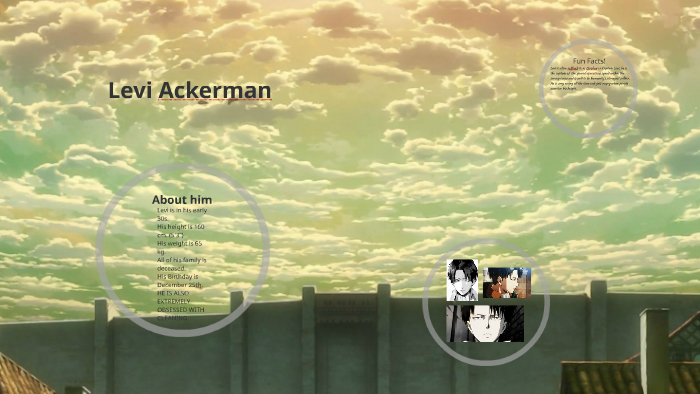 Levi Ackerman By Lika Fortin On Prezi