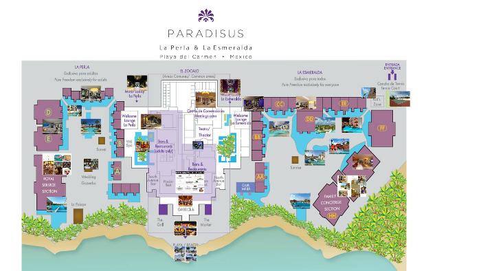 Paradisus Playa Del Carmen by Karla Nataren on Prezi on balboa park map, mountain view map, puerto rico map, solana beach map, old town map,