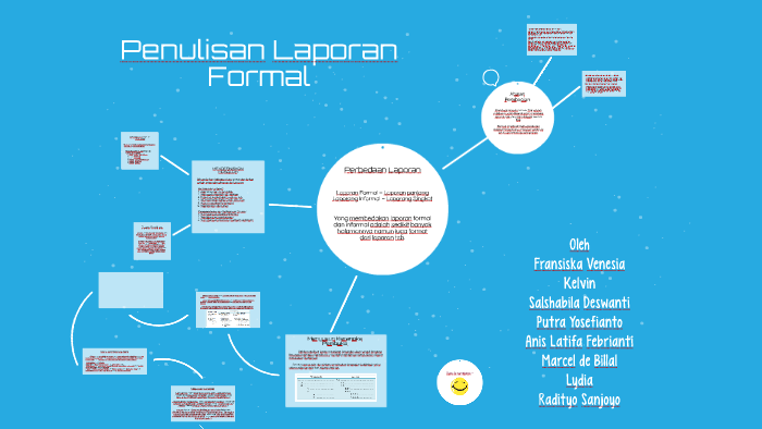 Penulisan Laporan Formal By Salshabila Deswanti
