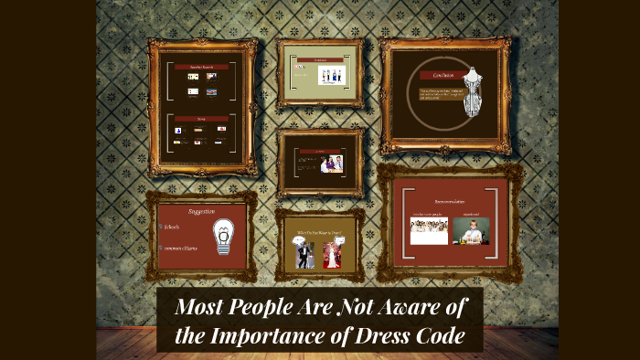 Most People Are Not Aware of the Importance of Dress Code by