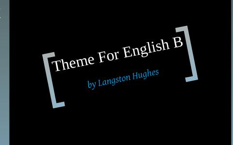 langston hughes english b