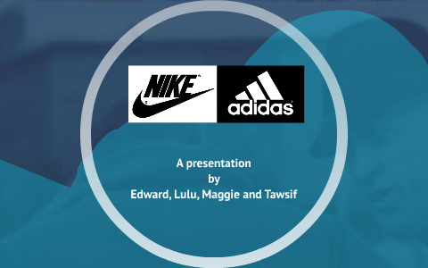 auténtico nuevas variedades 2019 profesional Nike vs. Adidas by T B on Prezi
