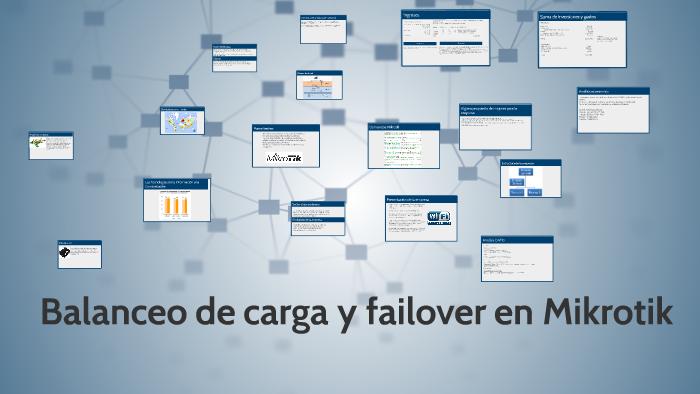 Balanceo de carga y failover en Mikrotik by Pablo Sánchez García on