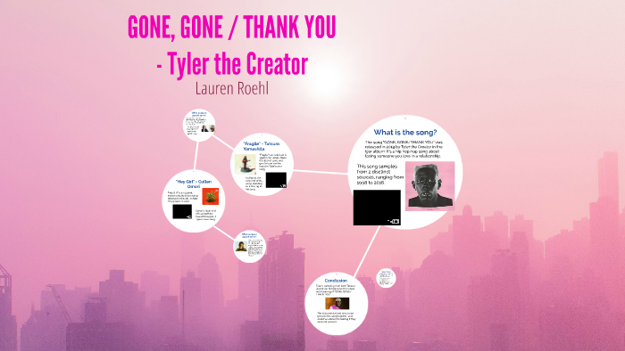 Gone Gone Thank You By Tyler The Creator By Lauren Roehl