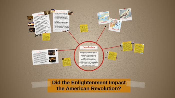 how did the enlightenment promote revolution in the american colonies