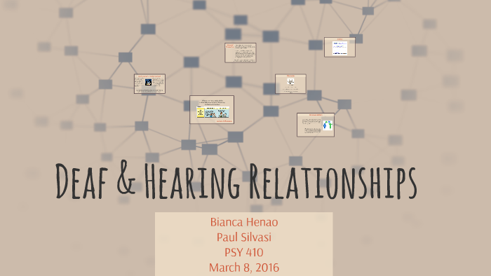 deaf and hearing relationships