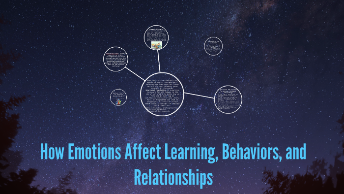 How Emotions Affect Learning Behaviors >> How Emotions Affect Learning Behaviors And Relationships By Maggie