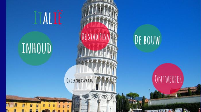 Ontwerper Toren Van Pisa.Jgff By Madelief Arendse On Prezi Next
