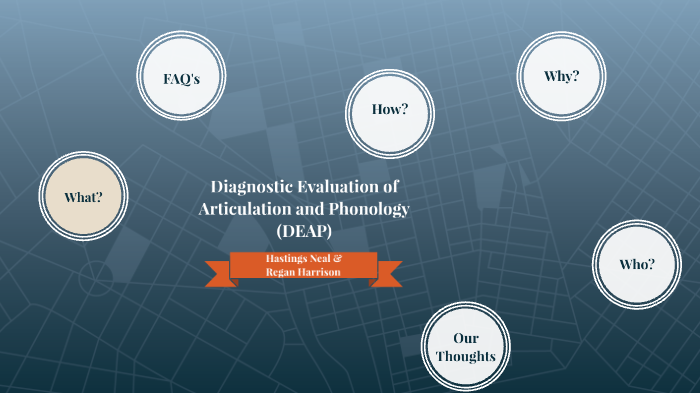 Diagnostic Evaluation of Articulation and Phonology by Reegan Bryan