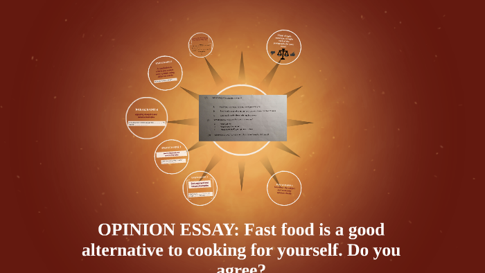 an opinion essay about fast food