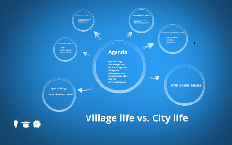 village life better than city life