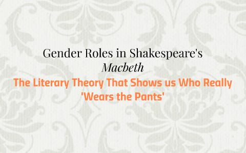 gender roles in macbeth sparknotes
