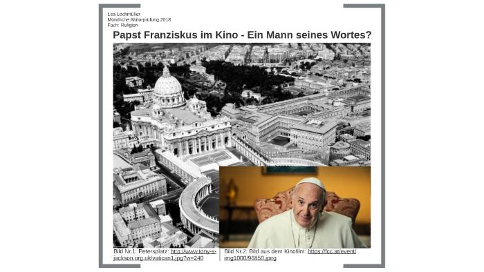 Papst Franziskus In Kino Ein Mann Seines Wortes By Lea