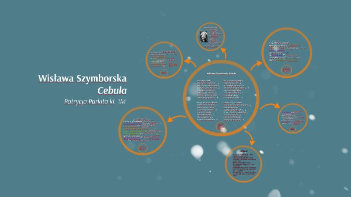 Wisława Szymborska Cebula By Patrycja Parkita On Prezi
