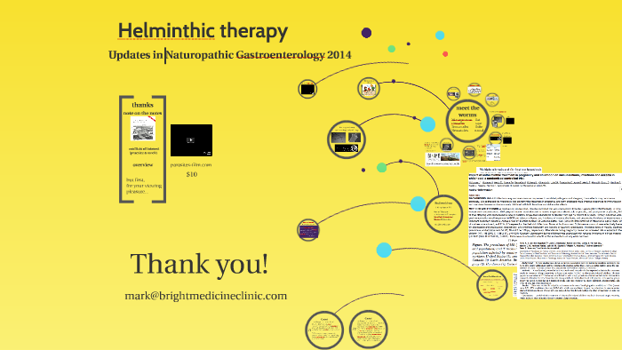 helminthic therapy ibs