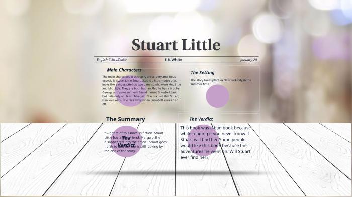 Stuart Little Book George
