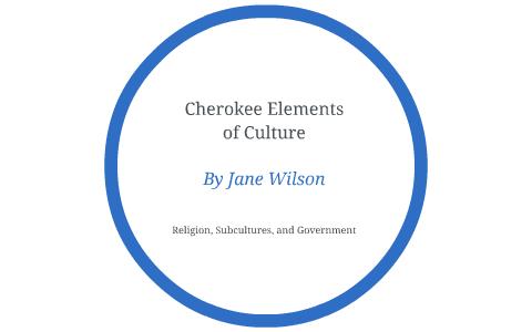Cherokee Elements of Culture by Jane Wilson on Prezi