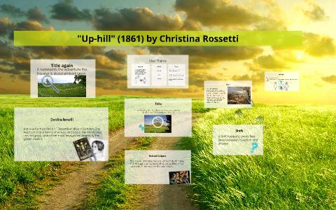 uphill poem summary