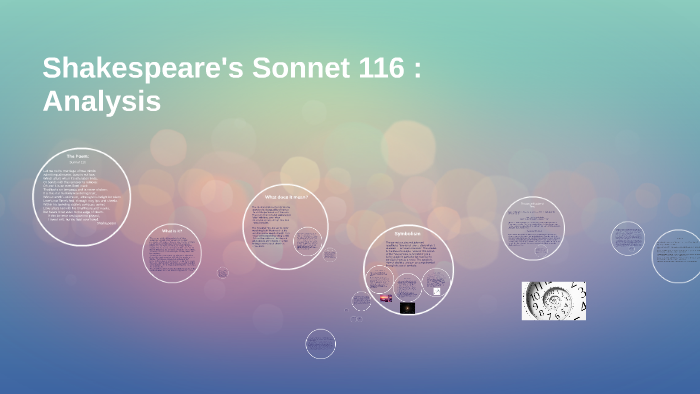what is the rhyme scheme of sonnet 116