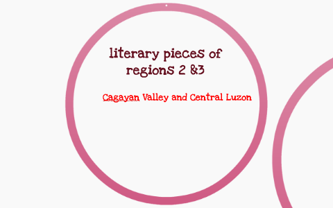 REGION 2 & 3 LITERATURE AND SONGS by macon flor bagongon on