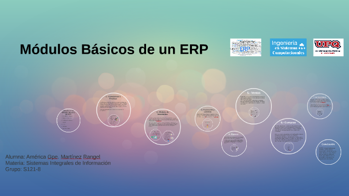 Módulos Básicos De Un Erp By Browniiee Gorgeeous On Prezi