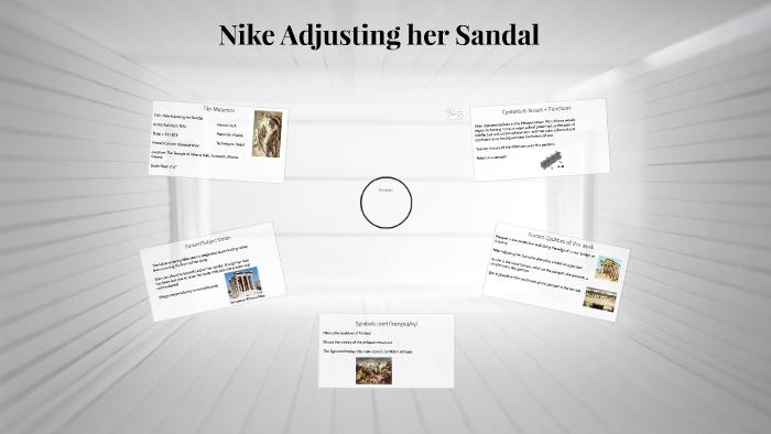 Her Adjusting Nike Sandal Marie Woods By On Prezi oexBWQrdC
