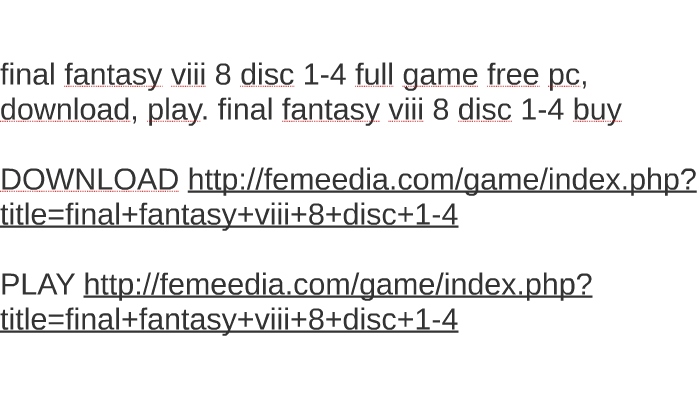 ff8 download