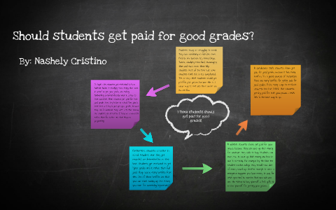 Should Students Get Paid For Good Grades Essay By Nashely Cristino  Should Students Get Paid For Good Grades Essay By Nashely Cristino On Prezi