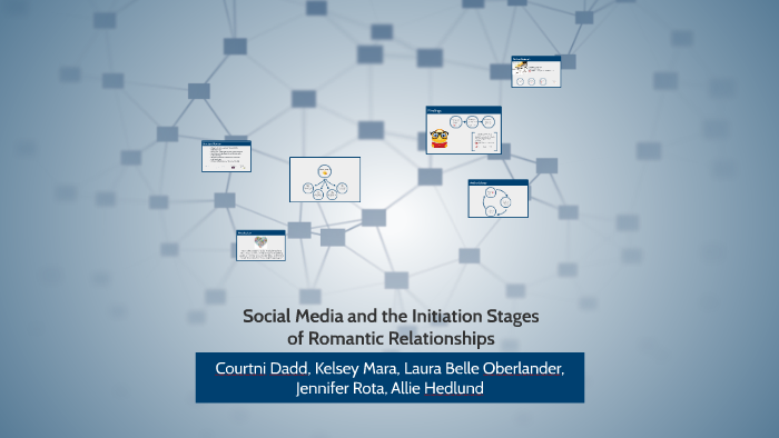 SOCIAL MEDIA AND THE INITIATION STAGES OF ROMANTIC RELATIONS by