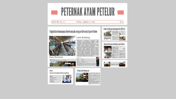 Peternak Ayam Petelur By Nurchalis Rasyid On Prezi Next