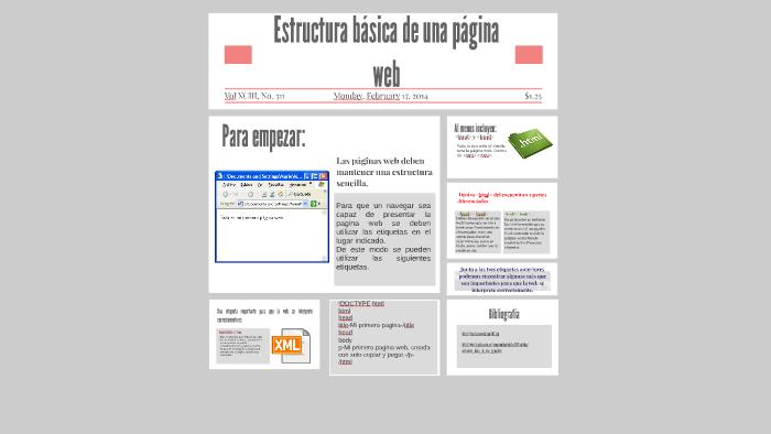 Estructura Básica De Una Página Web By Iván Guzmán On Prezi