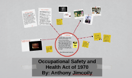 Occupational Safety Health Act 1970 By Anthony Jimcoily