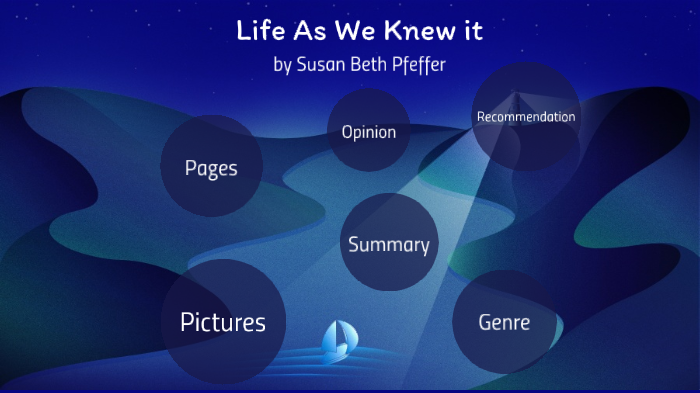 life as we knew it summary