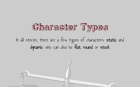 flat static character