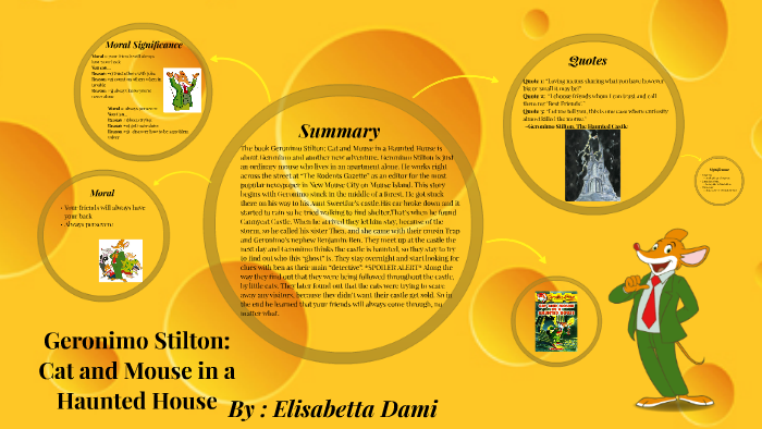 Cat and Mouse in a Haunted House Geronimo Stilton #3