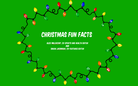 Christmas Fun Facts.Christmas By Alice Millerchip On Prezi