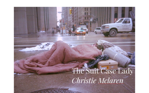 suitcase lady christie mclaren thesis