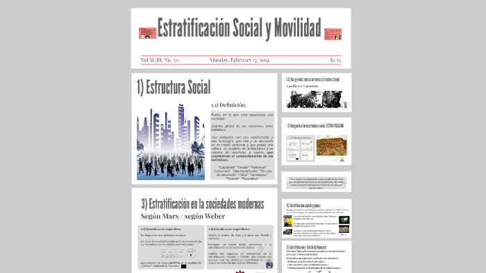 Tema 4 Estratificación Social By Cristina Martínez On Prezi