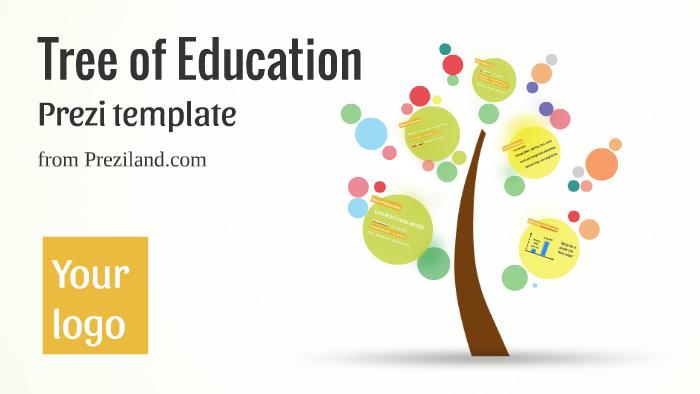 Tree Of Education Prezi Template By Prezi Templates By Preziland