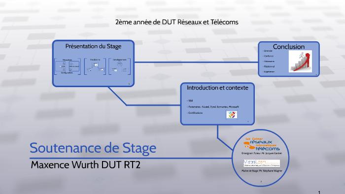 Soutenance De Stage By Maxence Wrt On Prezi