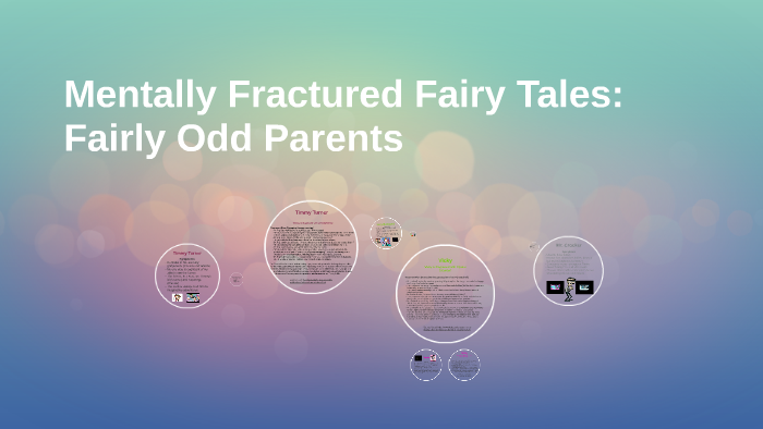Mentally Fractured Fairy Tales Fairly Odd Parents By Jessica