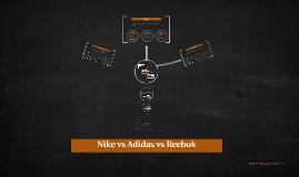 nike vs adidas vs reebok