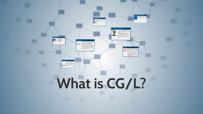 What is CG/L?